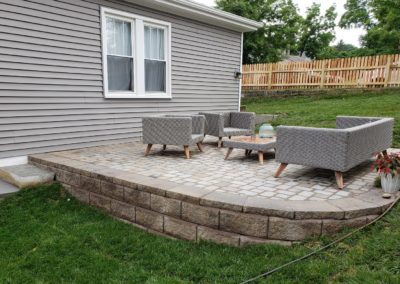 Beth of Northside Cincinnati Is Very Happy With Her New Paver Patio! See Pics…