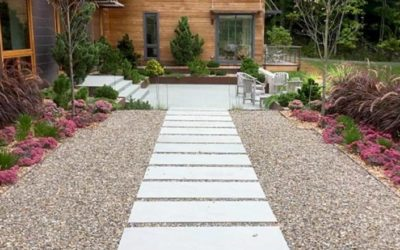 5 Tips To Help You Add a Sidewalk, Walkway, Patio, or Other Hardscape Feature Into Your Landscaping…