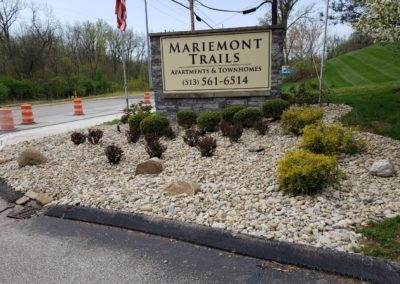 Nassua Investments Is Very Happy With Their Entrance Improvements at Mariemont Trails. See Pics…