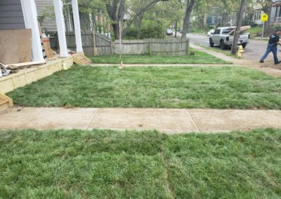 Kristy Is Very Happy With The New Sod Lawn We Installed At Her Walnut Hills Investment Property. See Pics…