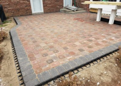 Donna Ross of Anderson Loves Her Two New Paver Patios Behind Her Home! See Pics…