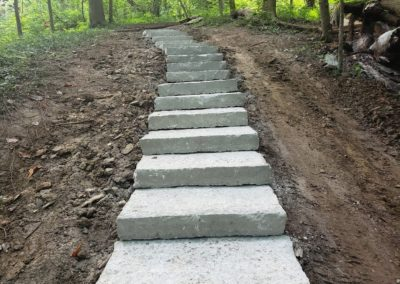 The Cincinnati Park Board Is Very Happy With Their New Stone Steps In Burnet Woods Park. See Pics and Videos…