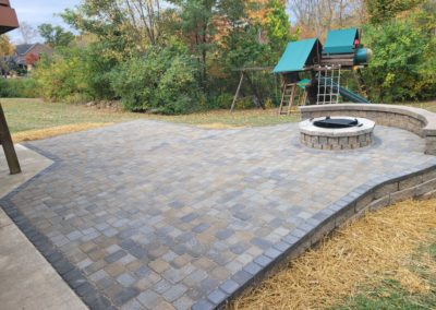 Amy and Andy of Anderson Are Very Happy With Their New Paver Patio, Retaining Wall, Seat Wall, and Fire Pit and Gave Us a 5 Star Review! See Pics and Video…