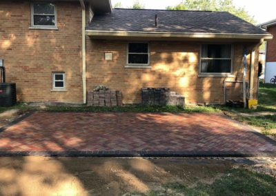 Ben in Finneytown Is Very Happy With His New Paver Patio! See Pics and Video…