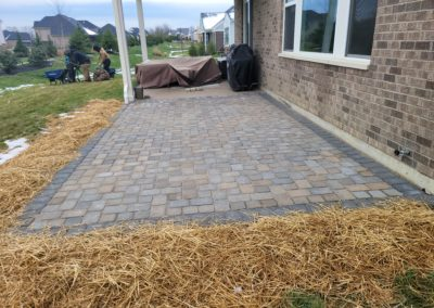 Damon and April of Mason, Ohio Are Very Happy With Their New Pave Patio and Landscaping! See Pics…