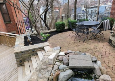 Katherine of Downtown, Cincinnati Gave Us a 5 Star Review For Weeding, Mulching, and Pruning All of Her Home's Outdoor Areas. See Pics…