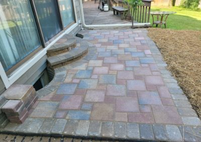 Ina Turner of Blue Ash, Ohio Loves Her New Patio and Steps. See Pics…